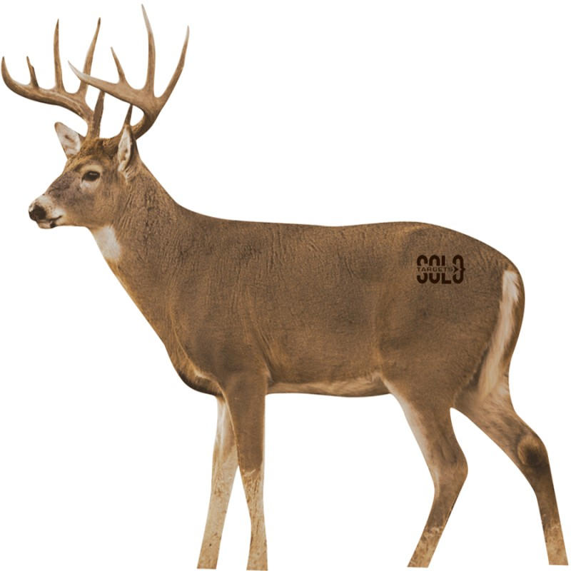 """2D """"WHITETAIL BROADSIDE"""" ARCHERY TARGET - Solo Targets"""