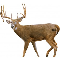 "SOLO SKIN LEGENDS ""WARRIOR BUCK"" WHITETAIL DEER BROADSIDE"